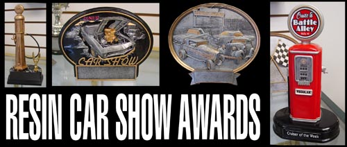 Car Show Awards - Unique car show awards